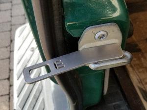 Spaltlüfter hintere Türe für Sprinter 906-907 / Crafter